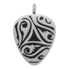iXXXi JEWELRY MEN iXXXi JEWELRY MEN HANGER PLECTRUM TRIBALS SILVER