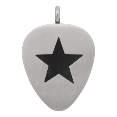 iXXXi JEWELRY MEN iXXXi JEWELRY MEN HANGER PLECTRUM STAR