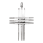 iXXXi JEWELRY MEN iXXXi JEWELRY MEN HANGER CROSS OPEN SILVER
