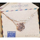 GO-DUTCH LABEL Go Dutch Label Necklace Tiger Head Rose Gold
