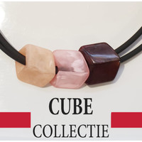 CUBE COLLECTION CUBES COMBINATIE PINK 005