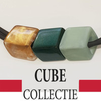 CUBE COLLECTION CUBES COMBINATION GREEN 007