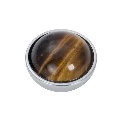 iXXXi JEWELRY iXXXi Jewelry Top part TIGER EYE BROWN Stainless steel