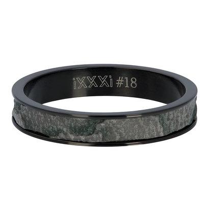 iXXXi JEWELRY iXXXi Washer 4mm Elephant Black stainless steel