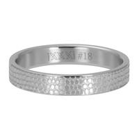 iXXXi JEWELRY iXXXi Washer 4mm GIRAFFE Stainless steel Silver