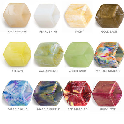 CUBE COLLECTION LOOSE CUBES NEW BASIC COLORS The size of the CUBE is 46x36mm.