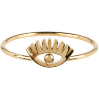 CHARMIN'S Charmins ring Lashes Shiny Steel Goud