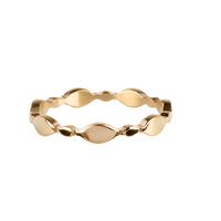 CHARMIN'S Charmins ring Bubbaly Shiny Steel Goud