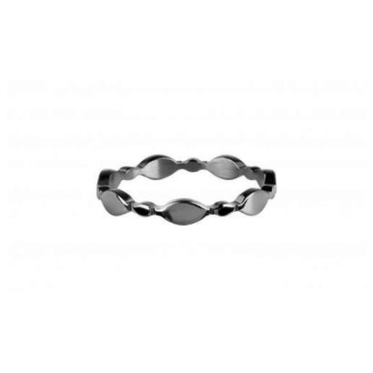 CHARMIN'S Charmins Bubbaly Shiny Silver steel  R751  van het fashion sieradenmerk Charmin's.