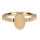 CHARMIN'S Charmins Ring MARIA Shiny Steel Gold