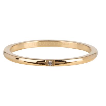 CHARMIN'S Charmins Precious Shiny Gold Stahl R744 von der Modeschmuckmarke Charmin's.