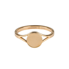 CHARMIN'S Charmins ring Musthave 2.0 Shiny Steel Gold