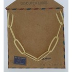 GO-DUTCH LABEL Go Dutch Label Chain Link Gold