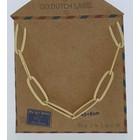 GO-DUTCH LABEL Go Dutch Label Kettenglied Gold