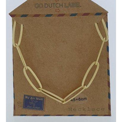 GO-DUTCH LABEL Go Dutch Label Edelstahl Kettenglieder 45 cm. Goldfarben