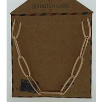 GO-DUTCH LABEL Go Dutch Label Chain links Rosegold colored