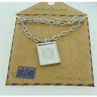 GO-DUTCH LABEL Go Dutch Label Necklace with pendant Leo Silver