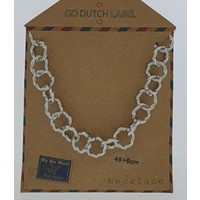 GO-DUTCH LABEL Go Dutch Label Chain Round Links Silver colored