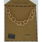 GO-DUTCH LABEL Go Dutch Label Chain Round Links Rose gold colored