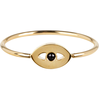 CHARMIN'S Charmins Mystic Eye Shiny Gold steel R764 from the fashion jewelry brand Charmin's.