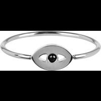 CHARMIN'S Charmins ring Mystic Eye Shiny Steel Silver