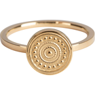 CHARMIN'S Charmins Ring Hypnotise Shiny Steel Gold