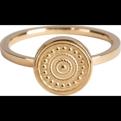 CHARMIN'S Charmins Hypnotise Shiny Gold Stahl R805 von der Modeschmuckmarke Charmin's.