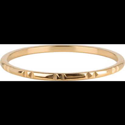 CHARMIN'S Charmins 12 Mark hiny Gold Steel R781 von der Modeschmuckmarke Charmin's.