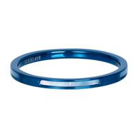 IXXXI JEWELRY RINGEN iXXXi Schmuckscheibe Bonaire 2mm Stahlblau mit Perlmutt