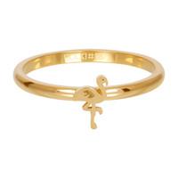 IXXXI JEWELRY RINGEN iXXXi Jewelry Washer 2mm Flamingo Gold-colored Steel