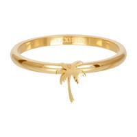 IXXXI JEWELRY RINGEN iXXXi Jewelry Washer 2mm Palm Tree Gold color