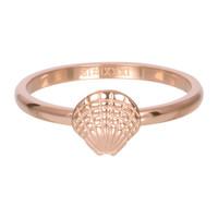 IXXXI JEWELRY RINGEN iXXXi Jewelry Vulring 2mm  Schelpje Rosegoudkleur