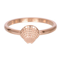 IXXXI JEWELRY RINGEN iXXXi Jewelry Washer 2mm Shell Rose Gold Tone
