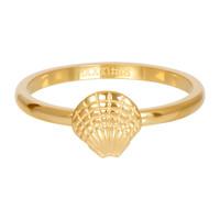 IXXXI JEWELRY RINGEN iXXXi Jewelry Vulring 2mm  Schelpje Goudkleur