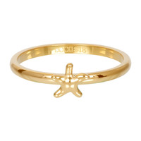 IXXXI JEWELRY RINGEN iXXXi Jewelry Washer 2mm Starfish Gold color