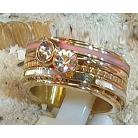 IXXXI JEWELRY RINGEN iXXXi COMBINATIE RING GOLD 1078