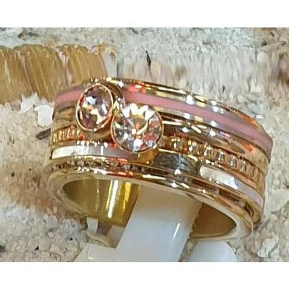 IXXXI JEWELRY RINGEN iXXXi COMBINATION RING BONAIRE 1078 GOLD