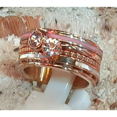 IXXXI JEWELRY RINGEN iXXXi COMBINATION RING BONAIRE 1079 ROSEGOLD