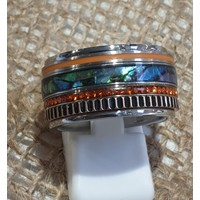 IXXXI JEWELRY RINGEN iXXXi COMBINATION OR COMPLETE RING BLUE SUN 1082 SILVER- CHOOSE