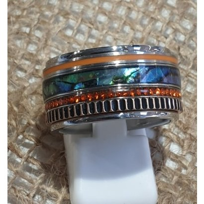 IXXXI JEWELRY RINGEN iXXXi COMBINATION exclusive or including base ring BLUE SUN 1082 SILVER-CHOOSE