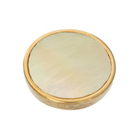 IXXXI JEWELRY RINGEN iXXXi Jewelry TOP PART Yellow Shell Goldplated