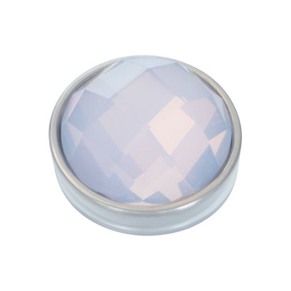 IXXXI JEWELRY RINGEN iXXXi Jewelry TOP PART FACETED ROSEWATER OPAL SILVER