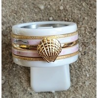 IXXXI JEWELRY RINGEN iXXXi COMBINATION OR COMPLETE RING PINK 13 1095 - SELECT