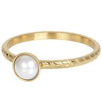 IXXXI JEWELRY RINGEN iXXXi Jewelry Vulring DYNASTIE 2mm  Parel Goud