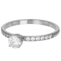 IXXXI JEWELRY RINGEN iXXXi Jewelry Vulring QUEEN 2mm  Zilverkleurig
