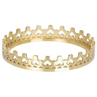 IXXXI JEWELRY RINGEN iXXXi Jewelry Vulring ROYAL CROWN 4mm  Goud