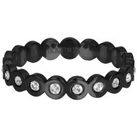 IXXXI JEWELRY RINGEN iXXXi Jewelry Washer BIG CIRCLE 4mm Black
