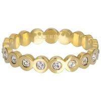 IXXXI JEWELRY RINGEN iXXXi Jewelry Vulring BIG CIRCLE 4mm  Goudkleurig
