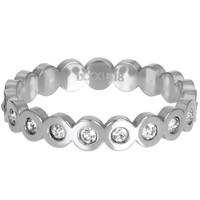 IXXXI JEWELRY RINGEN iXXXi Jewelry Vulring BIG CIRCLE 4mm  Zilverkleurig