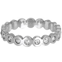 IXXXI JEWELRY RINGEN iXXXi Jewelry Washer BIG CIRCLE 4mm Silver colored